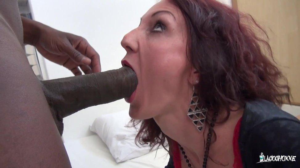 A esta mujer le gustan los negros y vergones