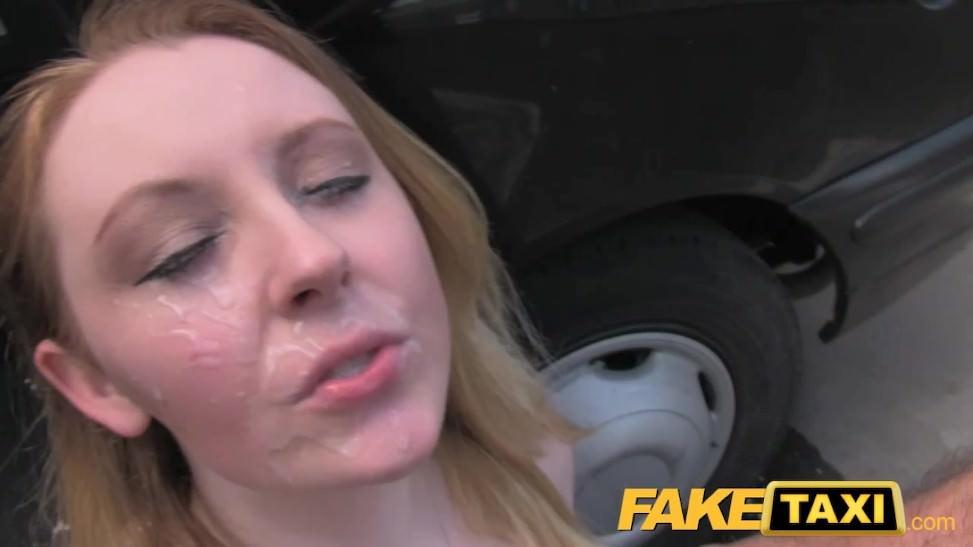 Tetona de 20 años termina follando con taxista y graba videos